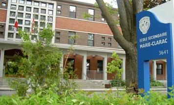 École Marie-Clarac, Montréal